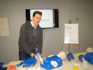 First aid and CPR re-certification courses in Mississauga, Ontario