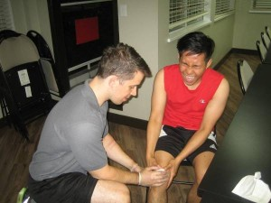 Knee contusion
